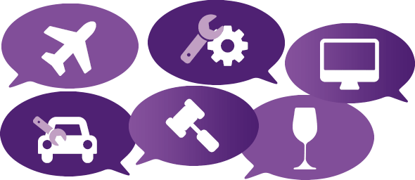 Sectores y actividades